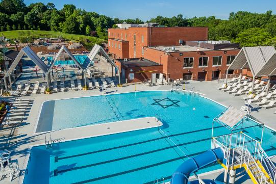 The Levine Jewish Community Center Outdoor Pool