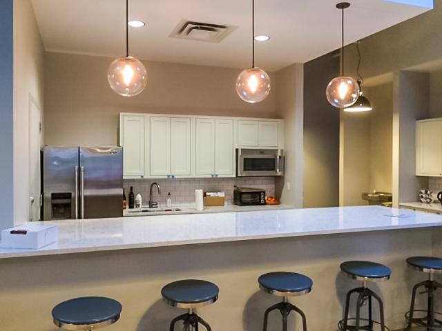Mode modern office kitchen