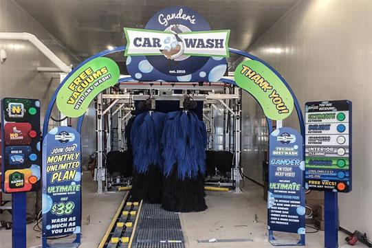 Gander's Car Wash