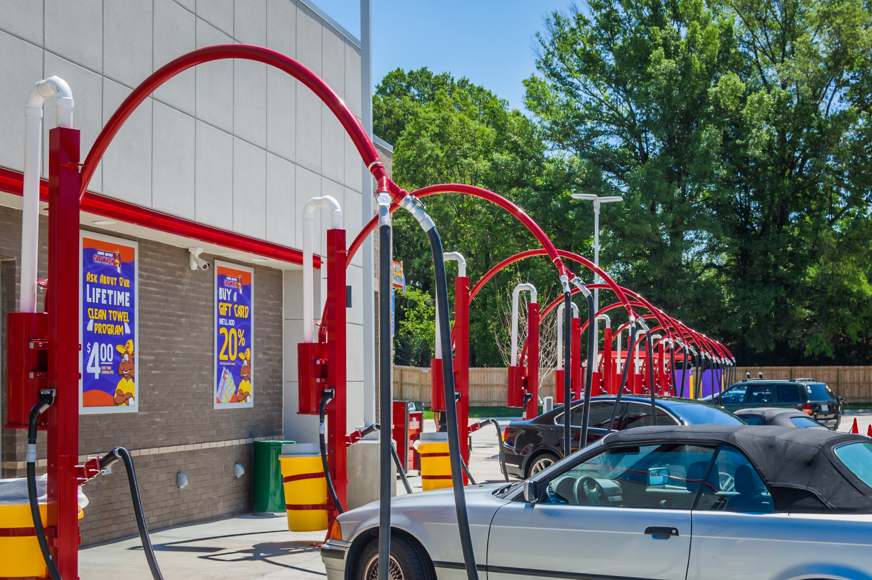 Sam 39 s xpress south boulevard andujar construction for Interior car detailing charlotte nc